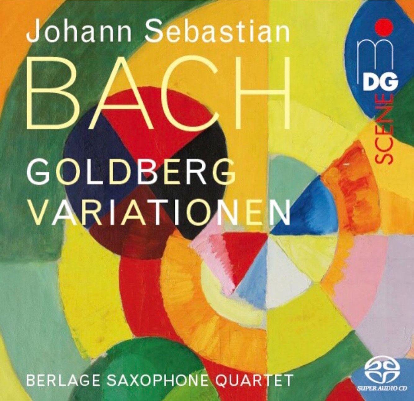 """New CD """"Goldberg Variations"""""""